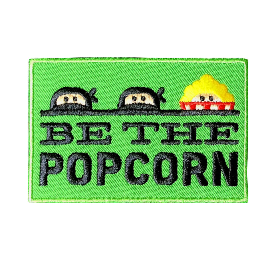 "Be The Popcorn - 3x2"" Patch"