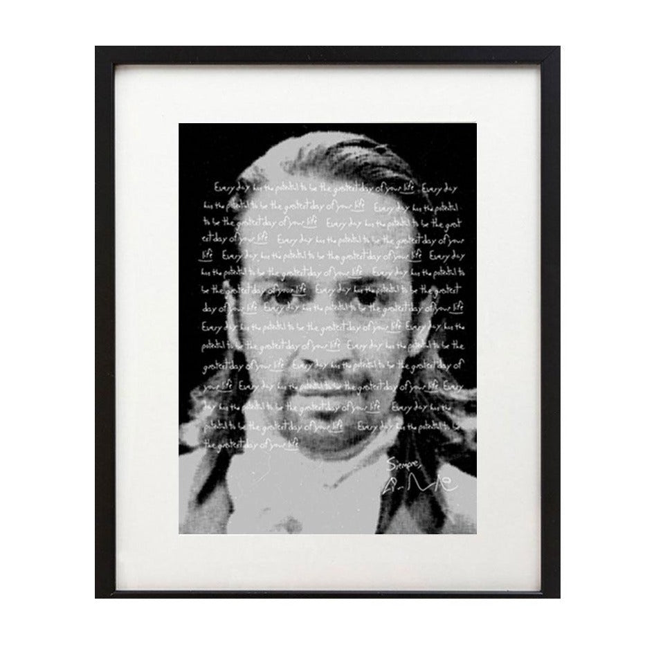 "Lin-Manuel ""Every Day Has the Potential"" 8X10"" Photo Print"