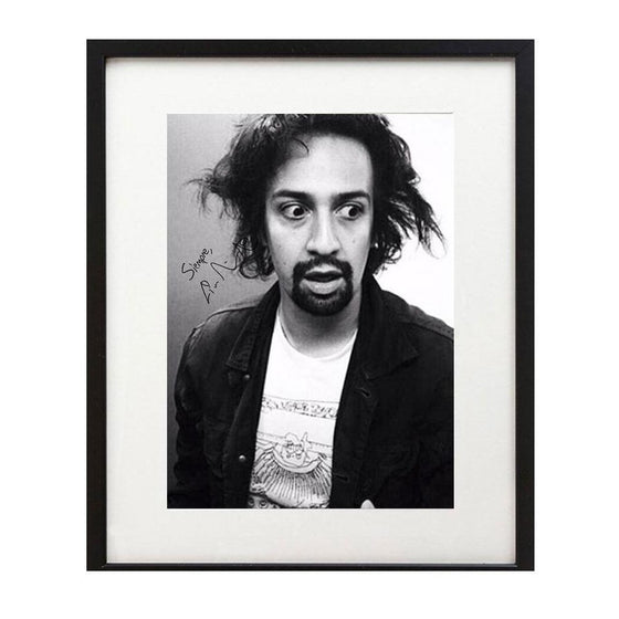 "Lin-Manuel ""Linstein""  8 X 10 Photo Print - New Item"