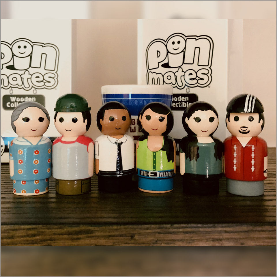 In the Heights Cast Collectible Pin Mates(tm)