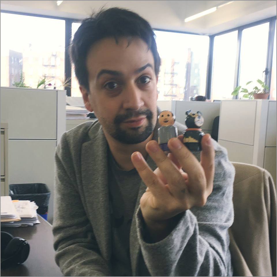 Lin-Manuel & Tobi Collectible Pin Mate(tm) - New Item