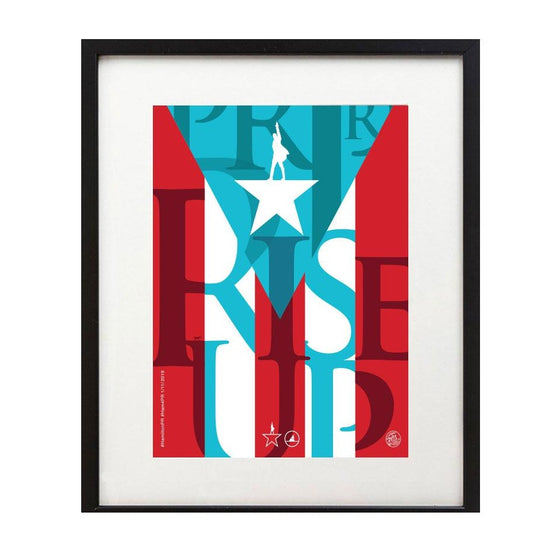 Hamilton Puerto Rico - 8x10 Rise Up Art Print - New Item