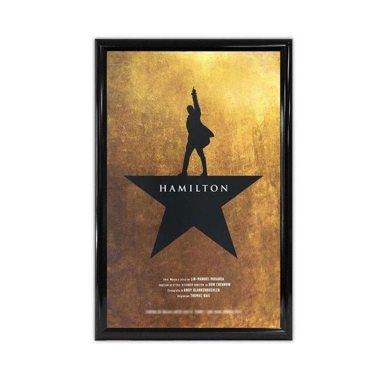 "Hamilton Cities - 14""X22"" Window Card from Theaters - New Item"