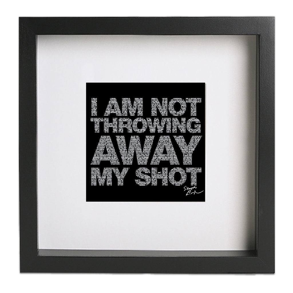"My Shot 8""x8"" Art Print"
