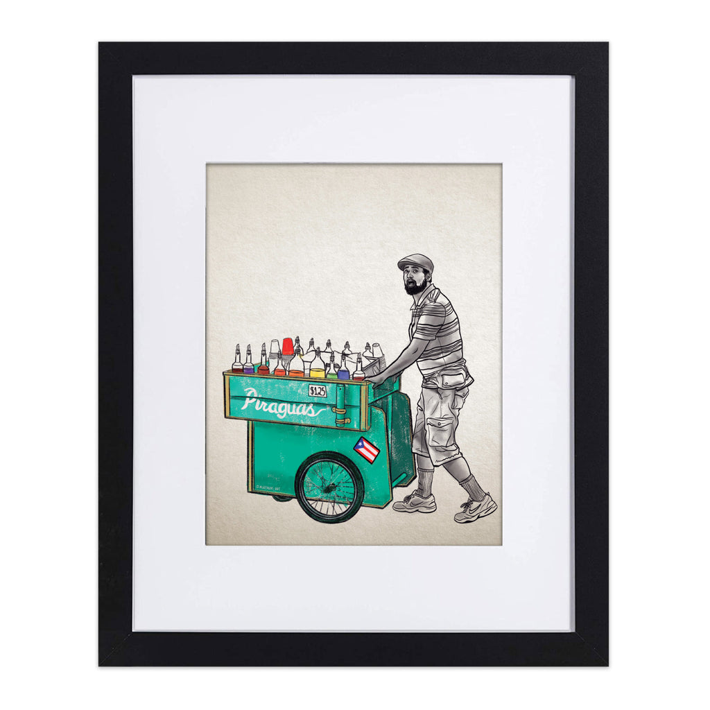 "In the Heights ""El Piraguero"" 8""x10"" Art Print"