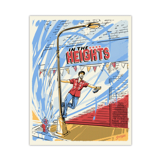 "In the Heights ""Singin' in the Heights"" 11X14 Art Print"