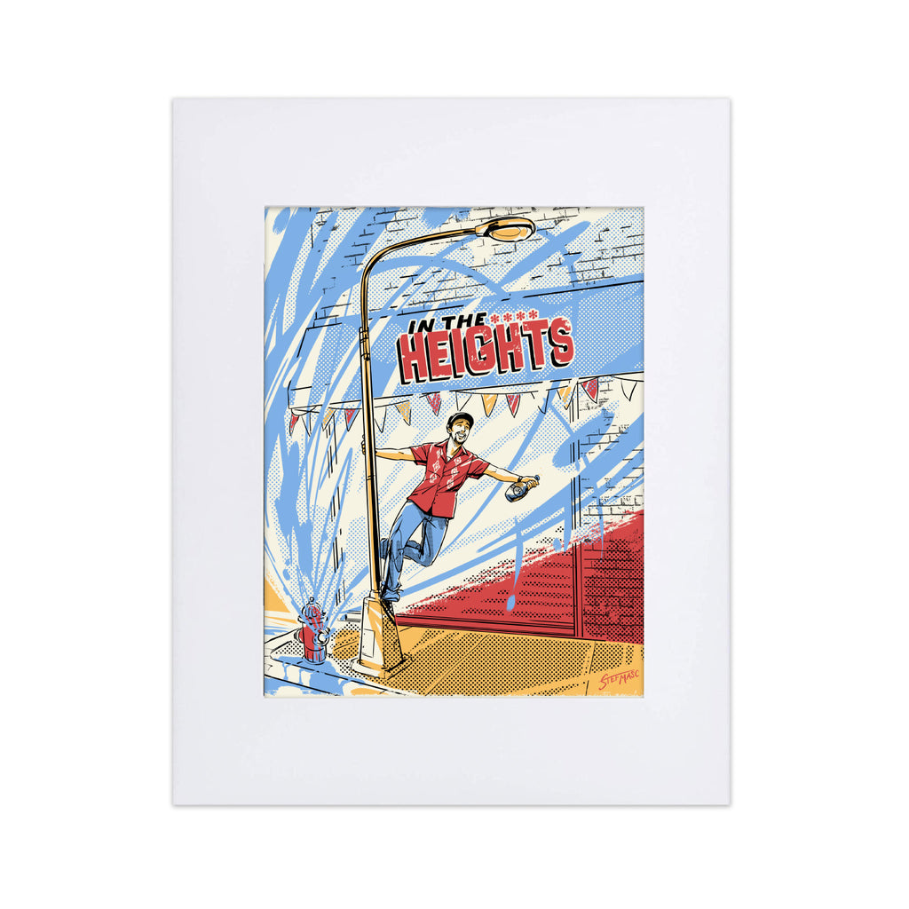 "In the Heights ""Singin' in the Heights"" 8X10 Art Print"