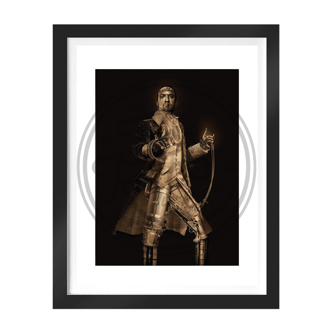 "Hamilton ""Legacy"" 11""x14"" Collage Art Print"