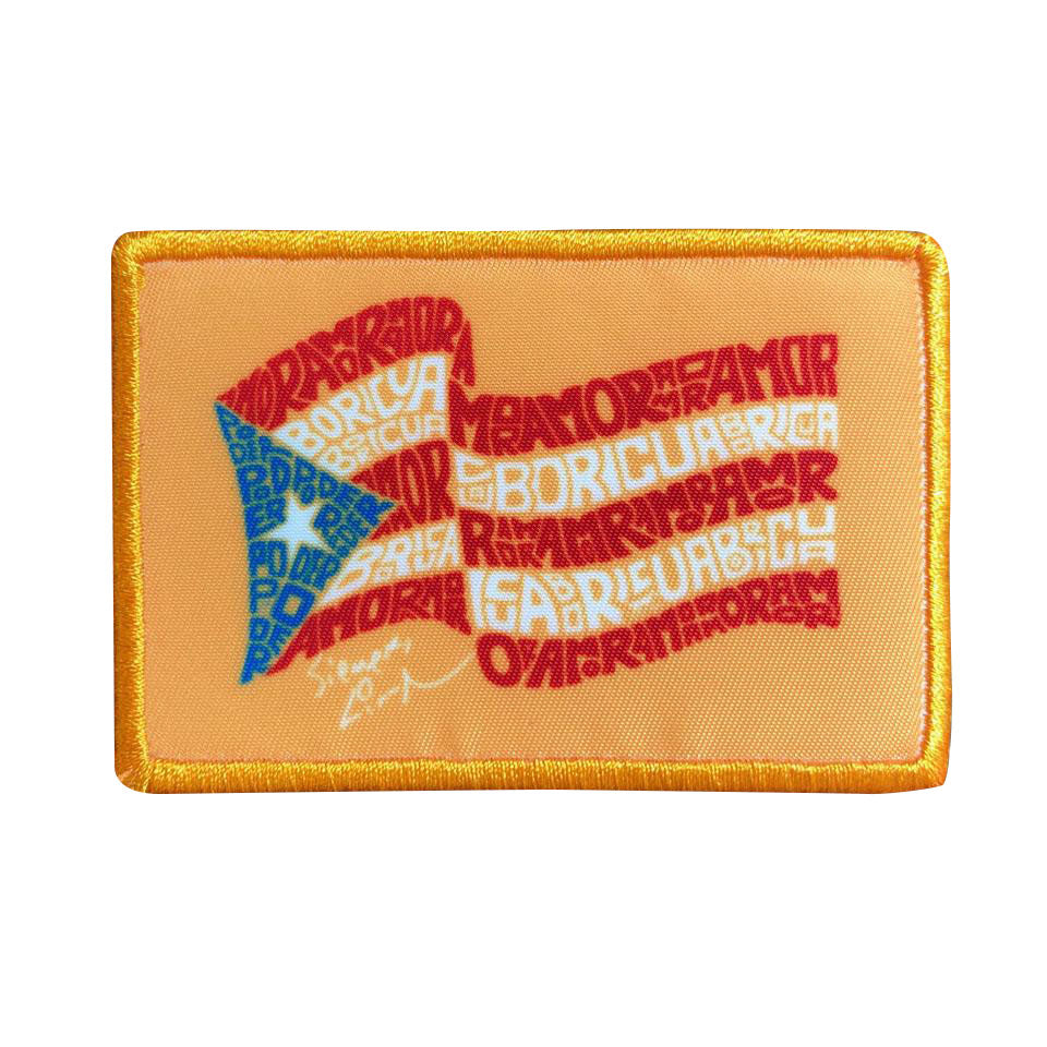 "Puerto Rico Scholarship Fund - 3X2"" Patch"