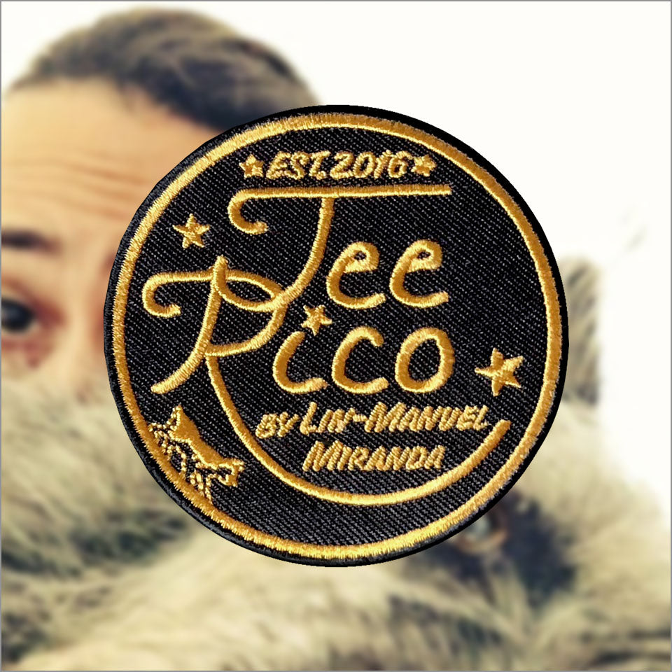"TeeRico by Lin-Manuel - 3"" Patch"