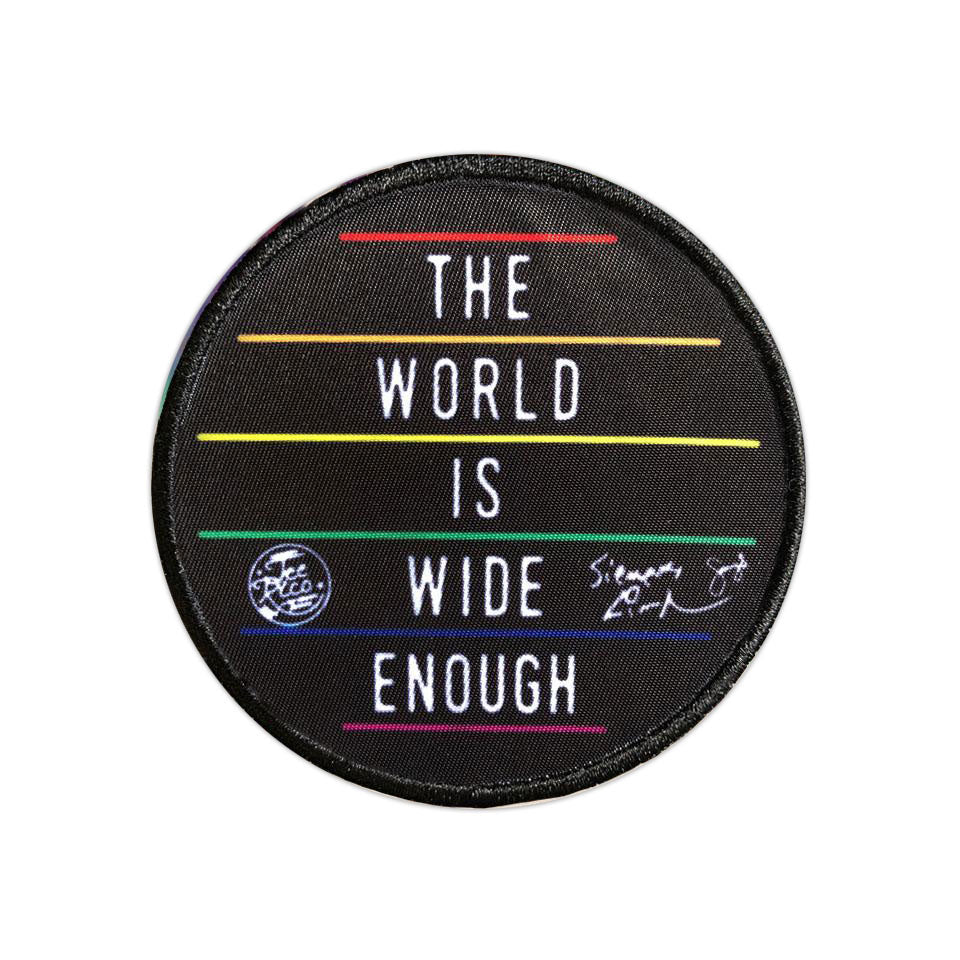 "The World is Wide Enough - 3"" Patch"