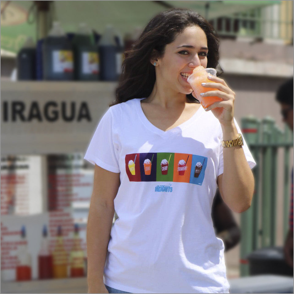 In the Heights - Piragua! - Ladies V-Neck