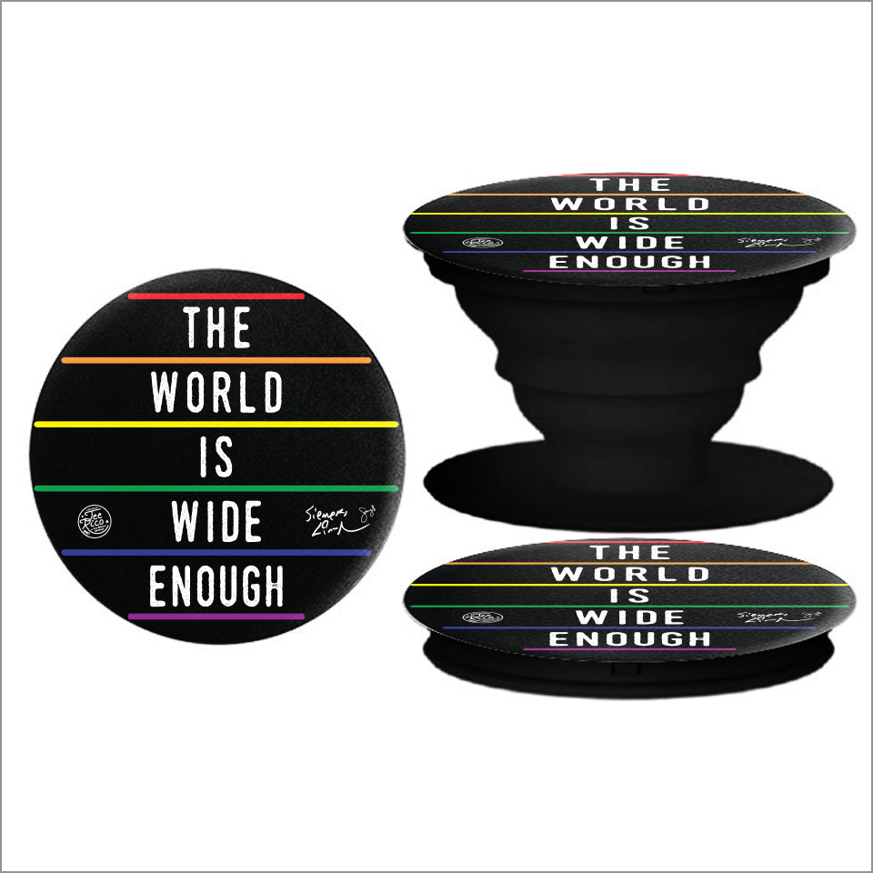 The World is Wide Enough - Pop Socket Phone Holder