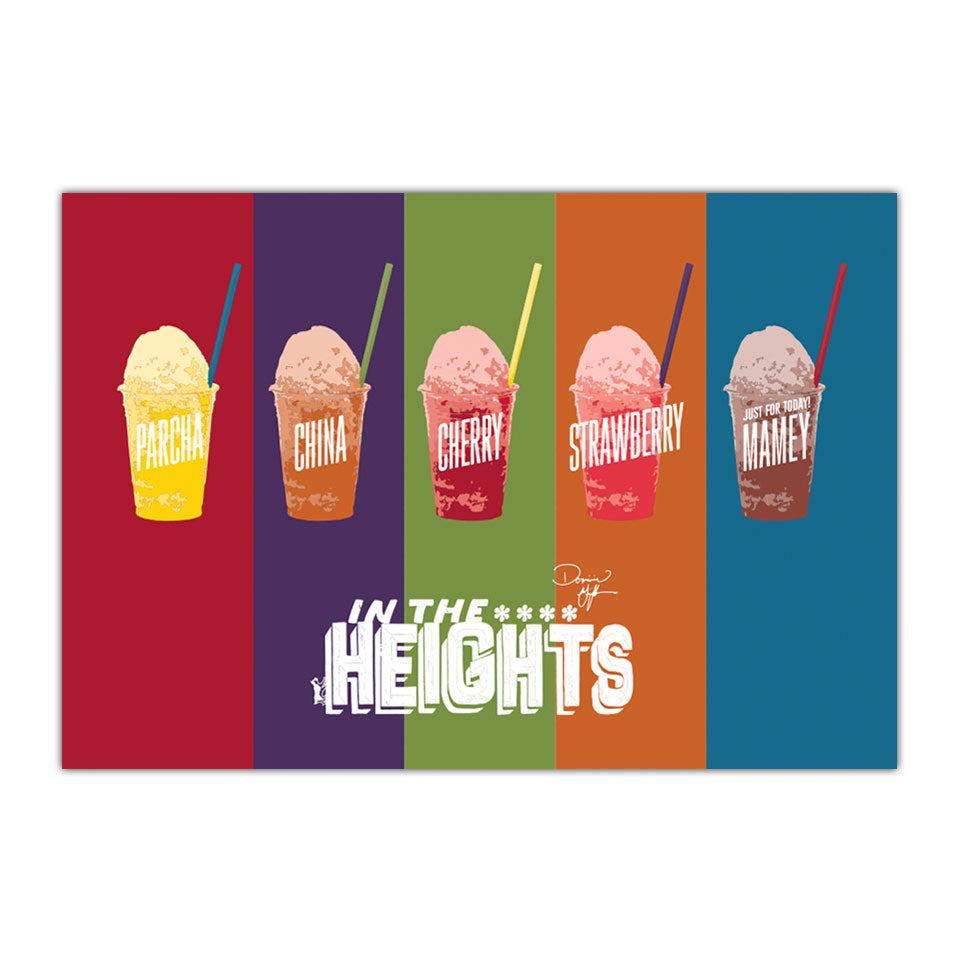 "In the Heights - Piragua! - 11""X17"" Poster"