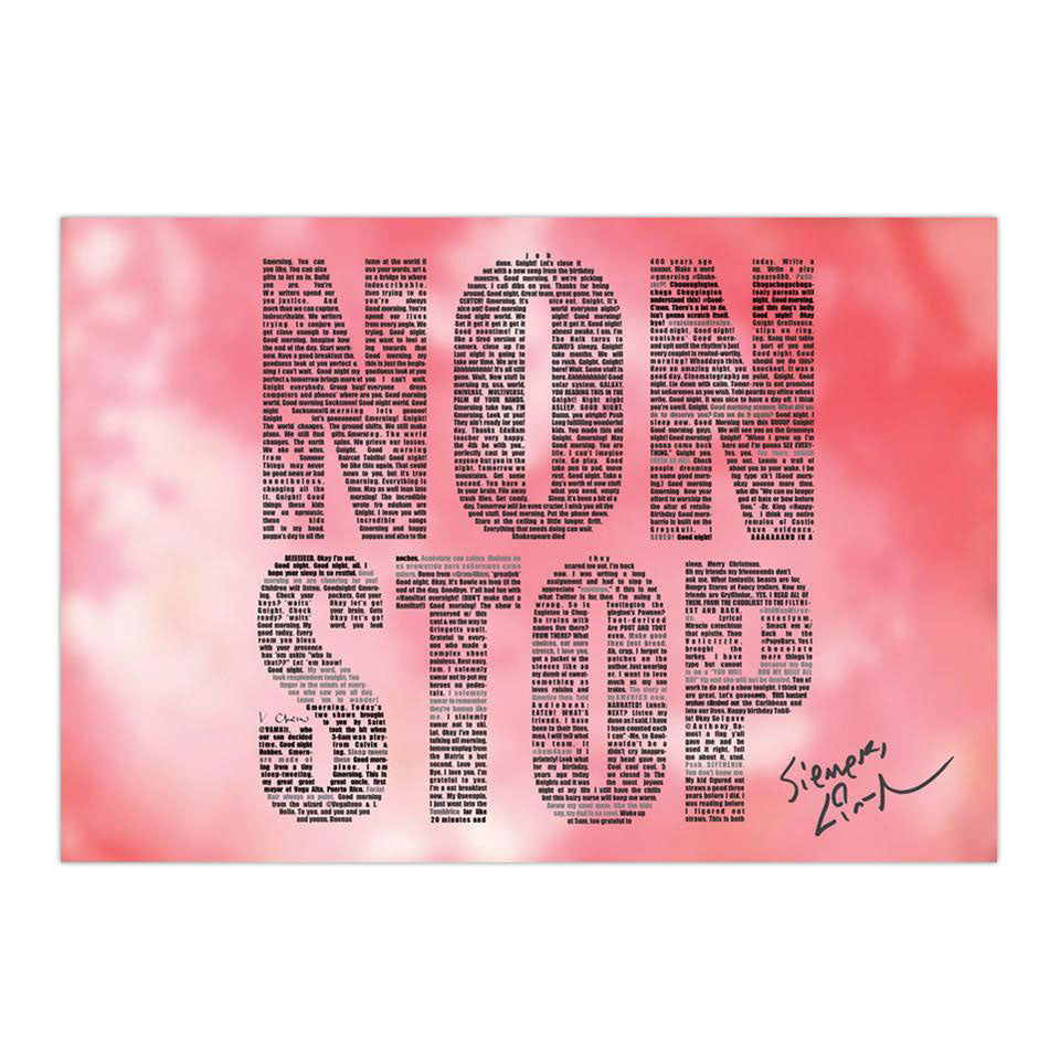 NONSTOP Poster (2 sizes)
