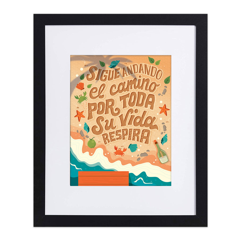 Sigue Andando - In the Heights 8X10 Art Print