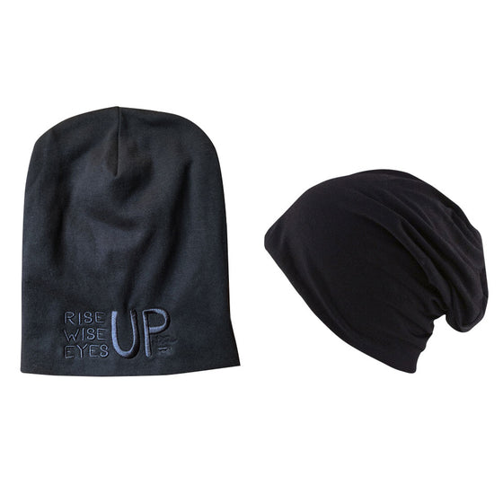 Rise Up, Wise Up, Eyes Up Slouch Beanie