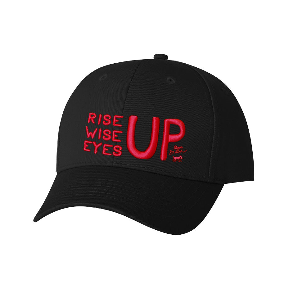 Rise Up, Wise Up, Eyes Up Baseball Cap