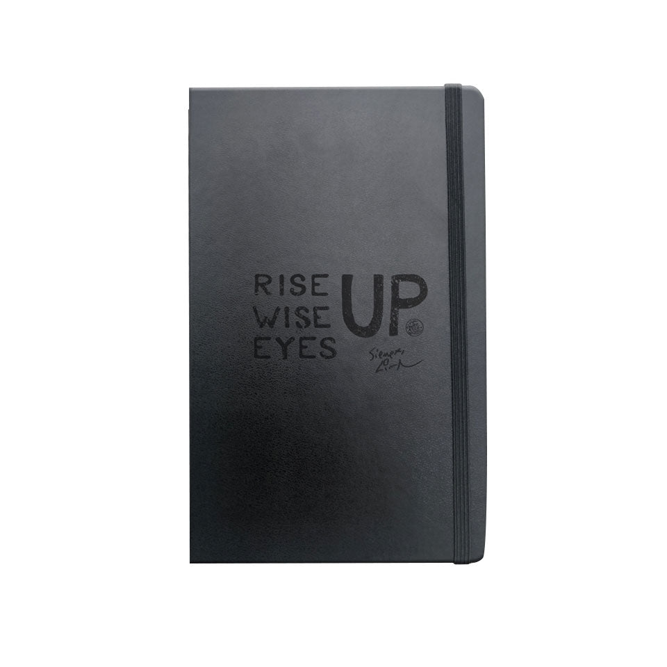 "Rise Up, Wise Up, Eyes Up - 8-1/4"" x 5"" x 5/8"" ULTIMATE Journal 120 Pages"