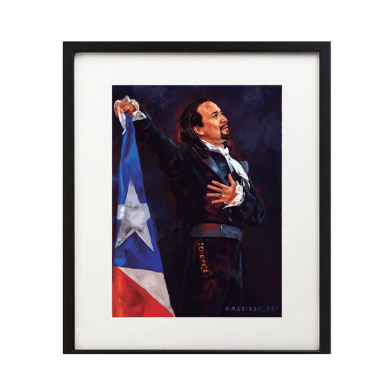 "Hamilton Puerto Rico ""Rise Up"" 8X10 Art Print - New Item"