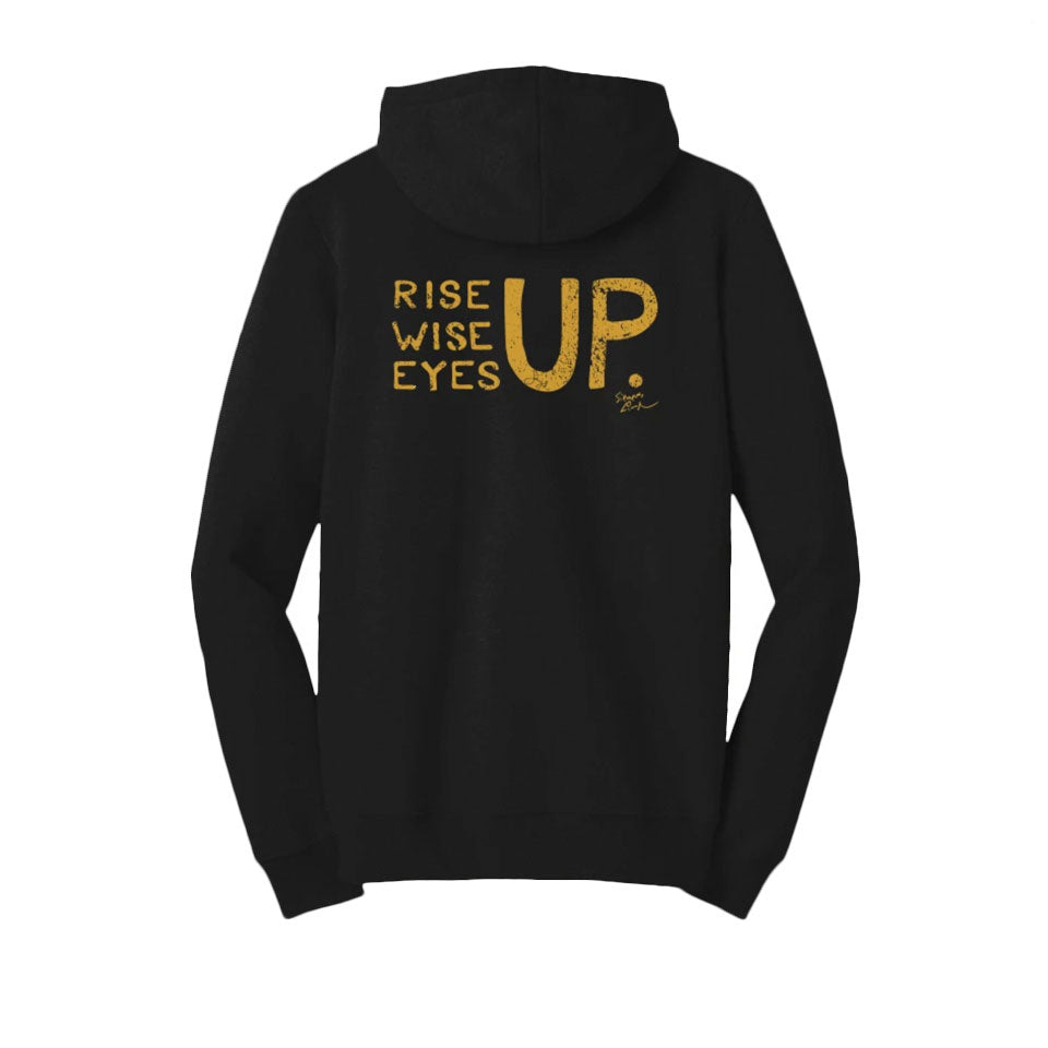 Rise Up, Wise Up, Eyes Up - Youth Hoodie