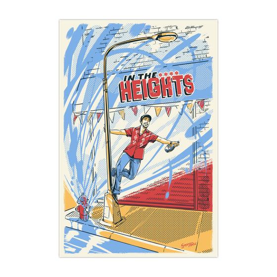 "Singin' in the Heights - 4""x6"" Magnet"