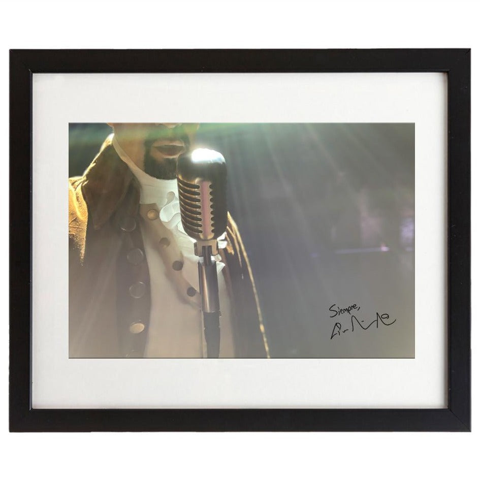 "Lin-Manuel ""Hamilton Stage"" 8""x10"" Photo Print"