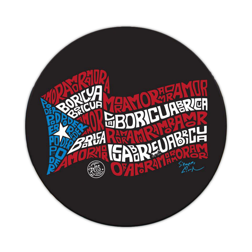 "Puerto Rico Scholarship Fund - 3"" Vinyl Sticker"