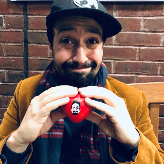 Lin-manuel Facetime Stress Heart