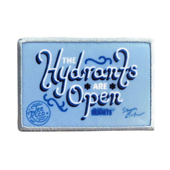 "In The Heights - Hydrants are Open 3X2"" Patch"