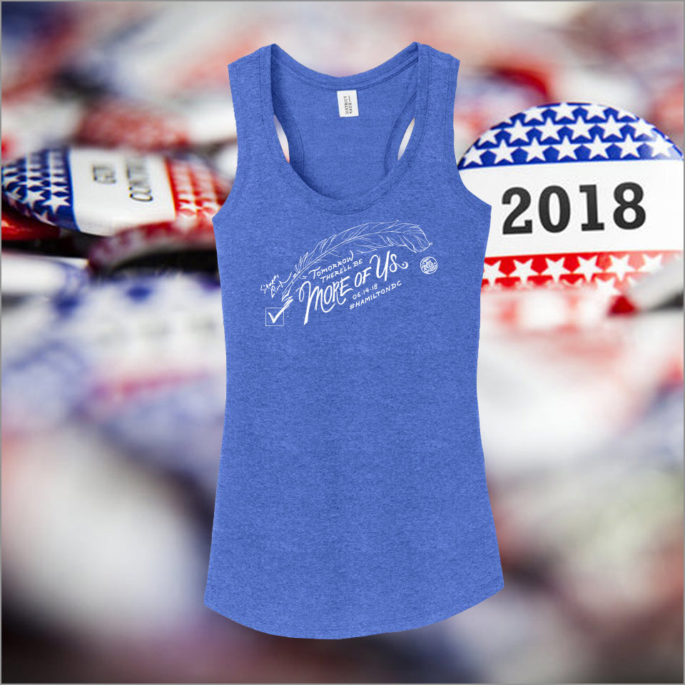 Hamilton DC - More Of Us - Unisex Tank Top - Holiday 50% Off Final Sale
