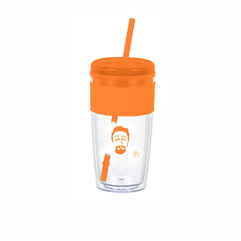 Lin-Manuel Bit of a Day! - 16oz Tumbler - Orange