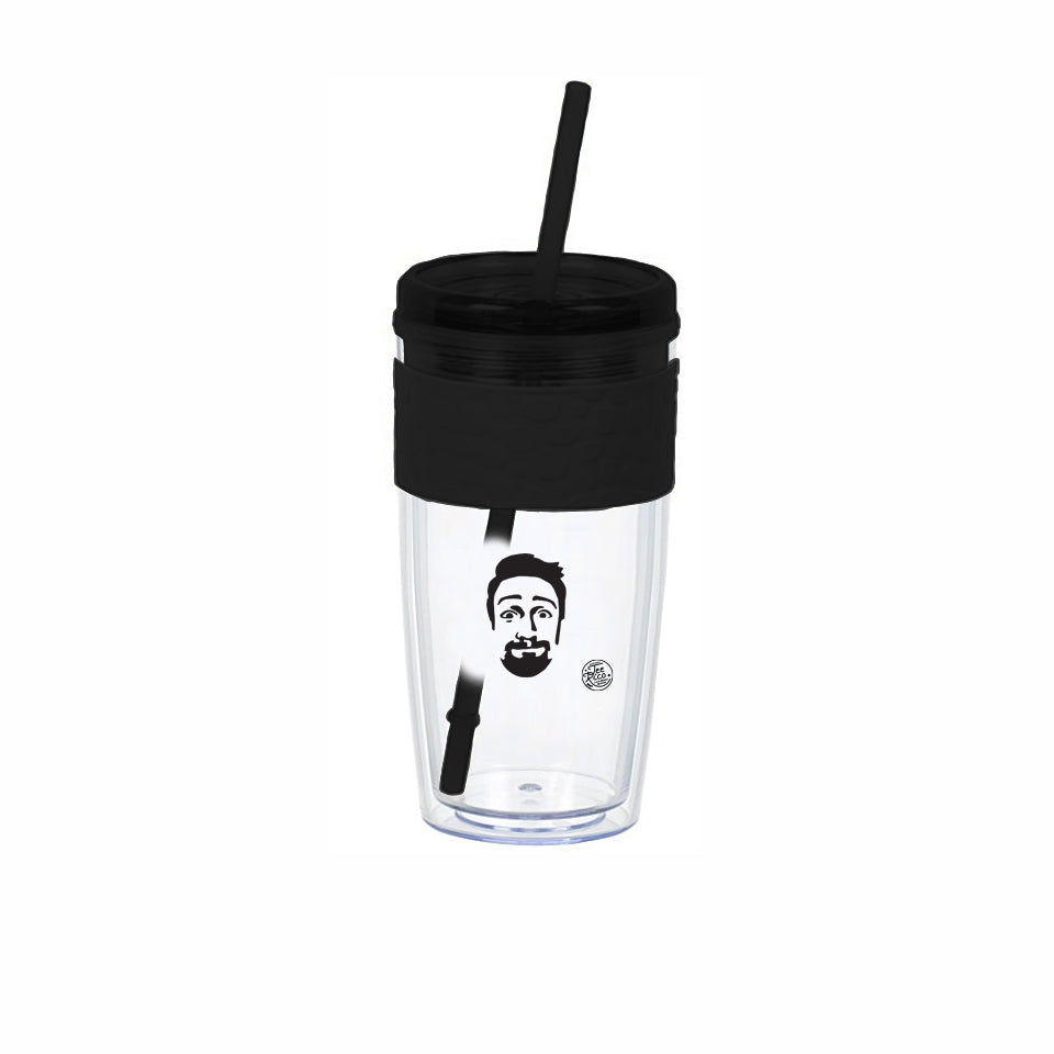 Lin-Manuel - LinPins - Bit of a Day! - 16oz Tumbler - Black