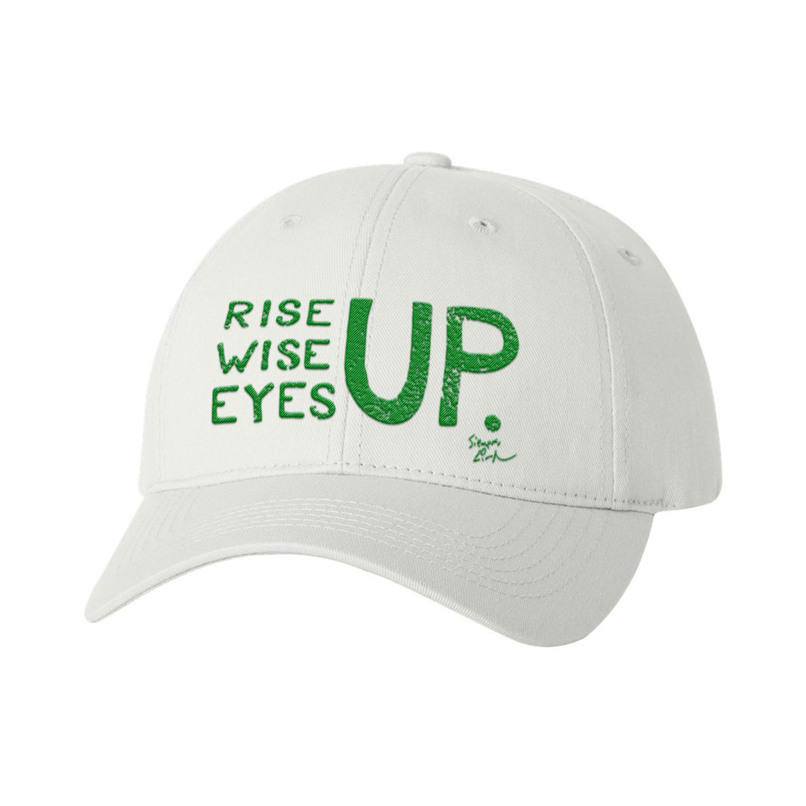 Rise Up, Wise Up, Eyes Up - Baseball Cap