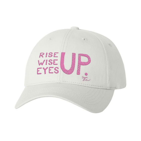 Rise Up, Wise Up, Eyes Up - Pink - Baseball Cap