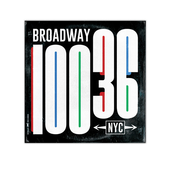 "Broadway Vinyl Sleeve - 4""x4"" Magnet - Black"