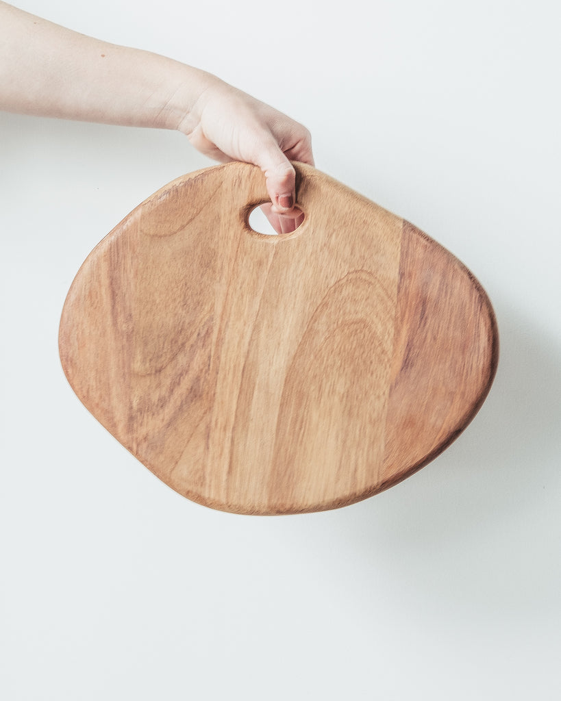 WOOD SERVING BOARD