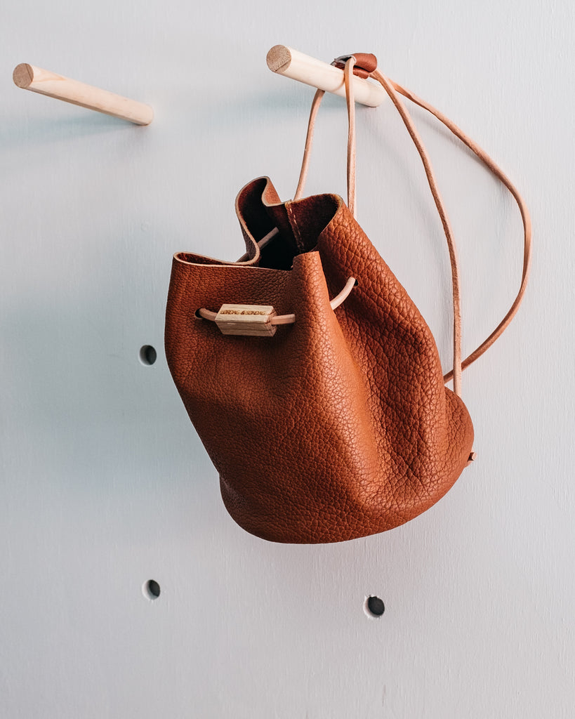 LAM MINI BACKPACK - BULLHIDE