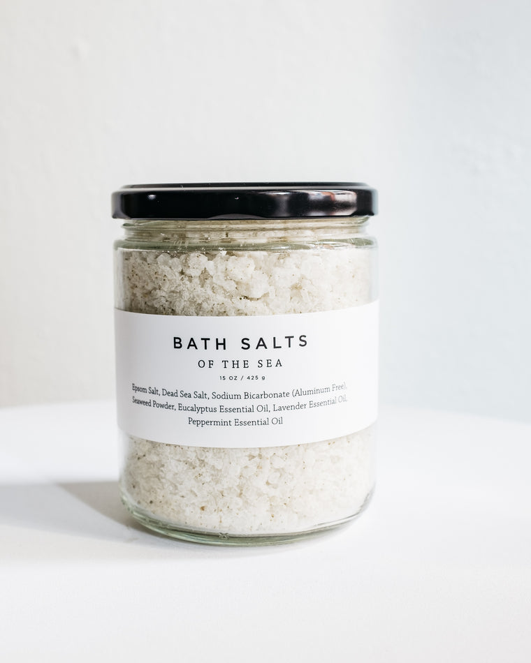 OF THE SEA BATH SALTS