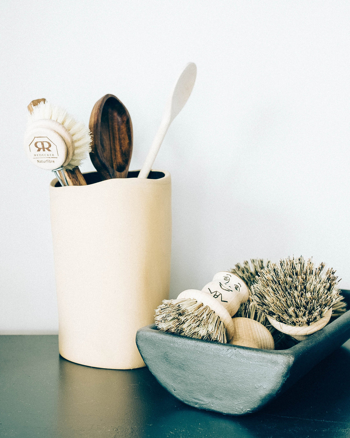 NATURAL FIBER POT SCRUBBER
