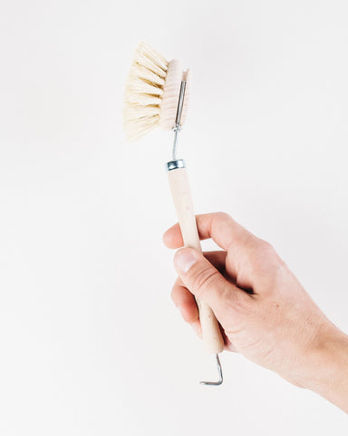 Natural Fiber Dish Washing Brush