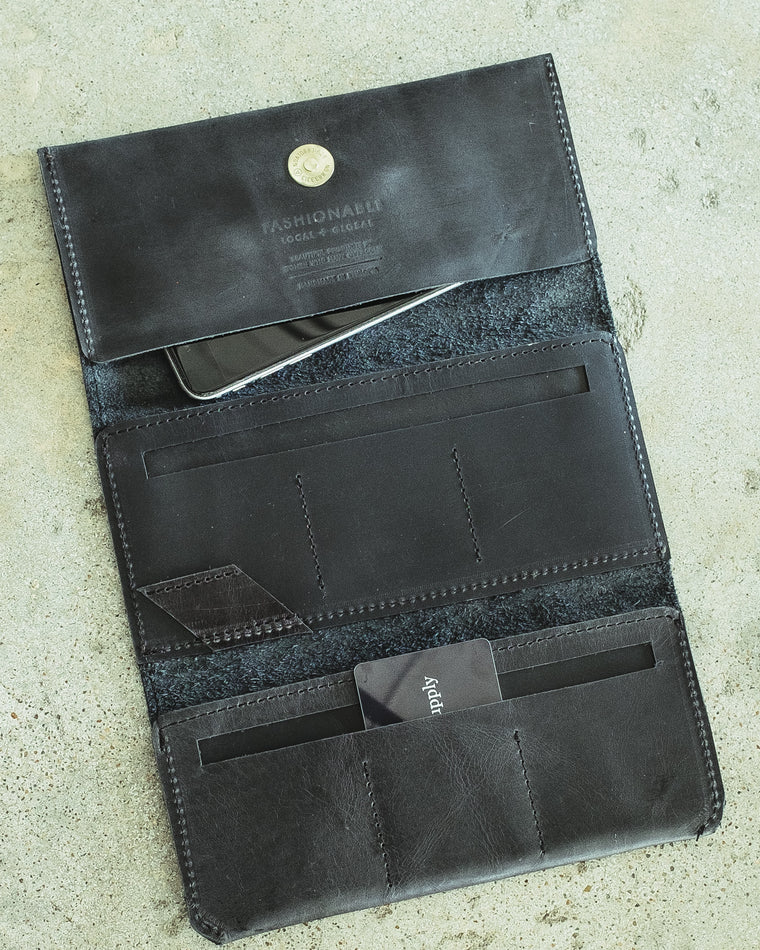 DEBRE MINIMAL LEATHER WALLET
