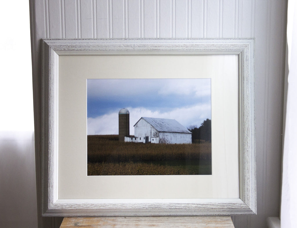 Old Barn Framed Photograph - Country Home Decor Print