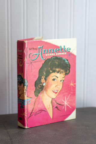 Vintage Annette Funicello Book - Annette Sierra Summers Disney 1960