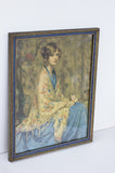 Alice Blue Gown - Antique Framed Print - Arthur Garrett