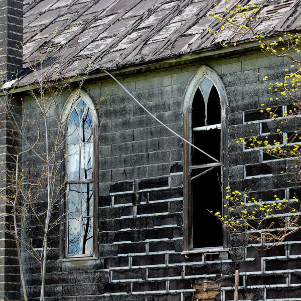 Mysterious Art Photography - Old Goth Church - Abandoned 1800's