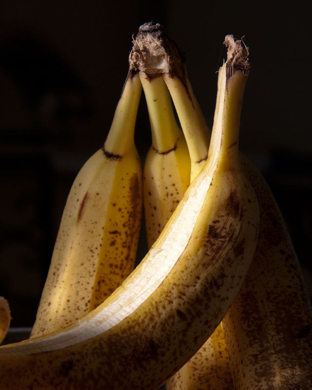 Photography Still Life - Banana Art - Dark Mood Moody Print - Kitchen Decor