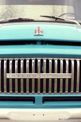 Ford Truck Photo - International Chrome Grill - Man Cave Garage Art