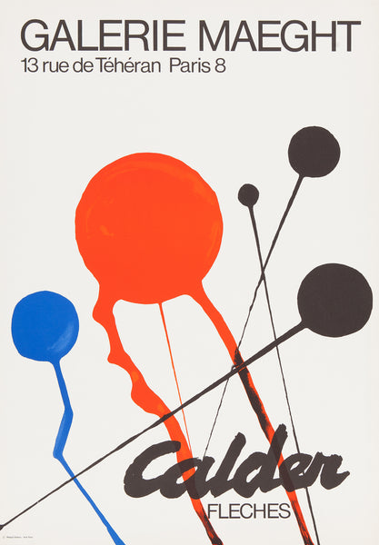 poster, affiches, calder, maeght, litho, lithograph,original, art