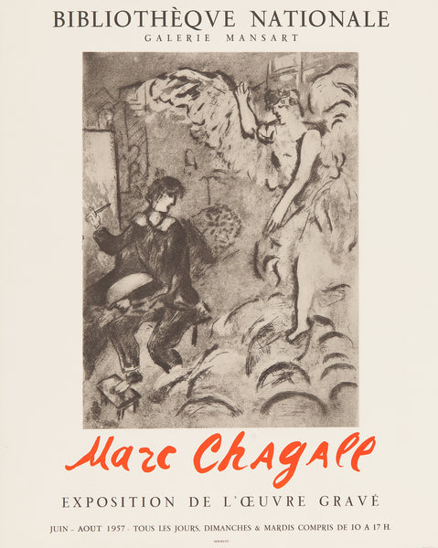 Chagall, affiches, art, poster, artposter, litho, marc chagall, bibliotheque